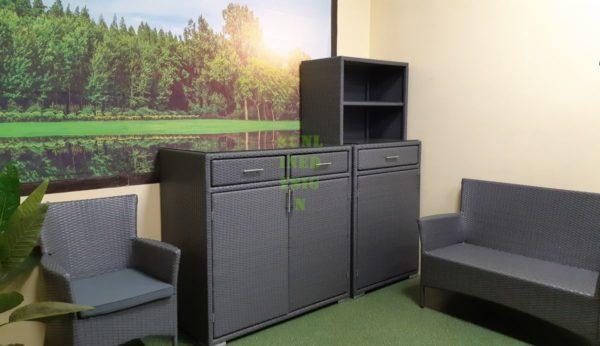 Nina grey Плетеная мебель