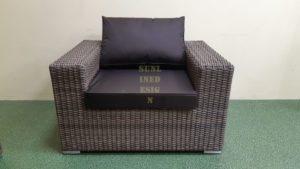 Enigma beige Кресло плетеное для отдыха